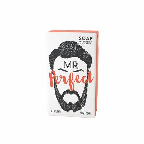 Mr.Beard Soap - Mr.Perfect skæg sæbe med Spearmint & Patchouli