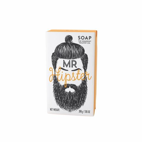 Mr.Beard Soap - Mr.Hipster skæg sæbe med Black Pepper & Ginger