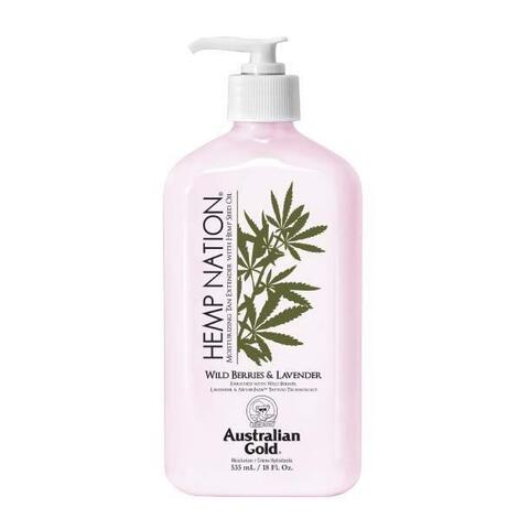 HEMP NATION - Wild Berries & Lavender Body Lotion med hampfrøolie