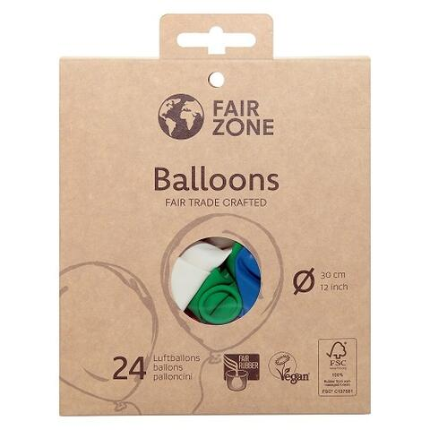 FAIR ZONE - Certificeret FAIR RUBBER Balloner