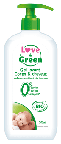 Love and Green - Baby Bade og Shampoo i 1