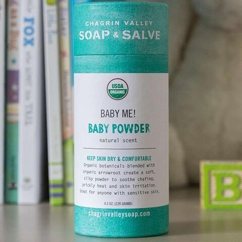Økologisk Babypudder, Køb Chagrin Valley Baby Me!