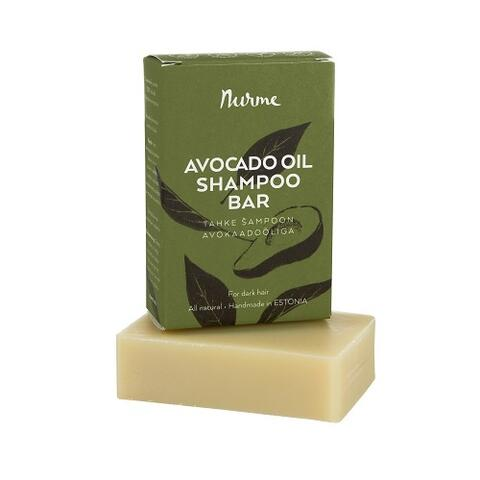 Nurme - Avocado Oil Shampoo Bar til Mørkt Hår