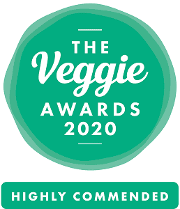the Vegggie Awards 2020- Highly Commended