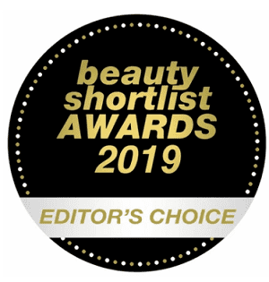 beauty shortlist EDITOR´S CHOICE AWARDS vinder 2019
