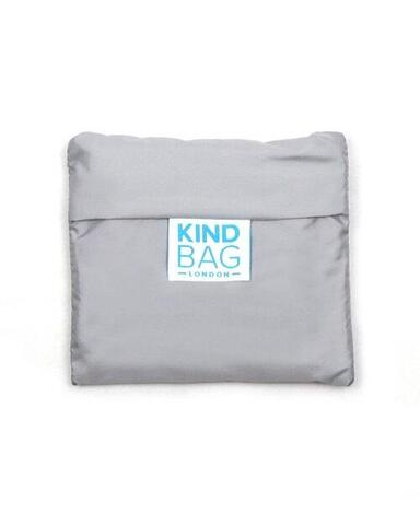 KIND BAG - Recycle Grey & Coral Indkøbspose i Medium