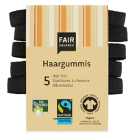 FAIR SQUARED - Hårelastikker - FAIR TRADE